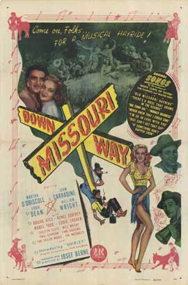 Down Missouri Way - 27 x 40 Movie Poster - Style A