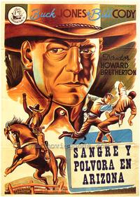 Down Texas Way - 27 x 40 Movie Poster - Spanish Style A