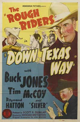 Down Texas Way - 11 x 17 Movie Poster - Style A