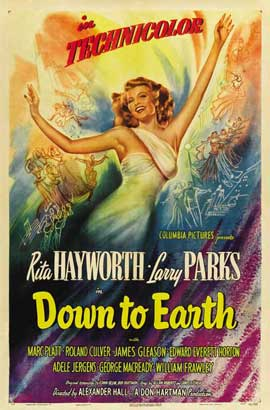 Down to Earth - 11 x 17 Movie Poster - Style A