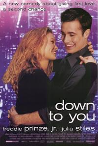 Down to You - 27 x 40 Movie Poster - Style A