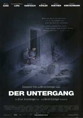 Downfall - 11 x 17 Movie Poster - German Style A