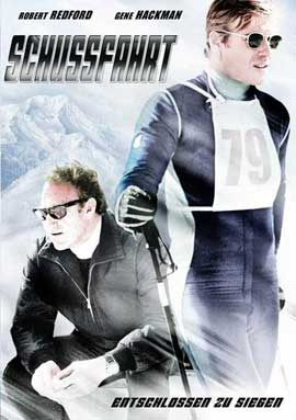 Downhill Racer - 11 x 17 Movie Poster - German Style A