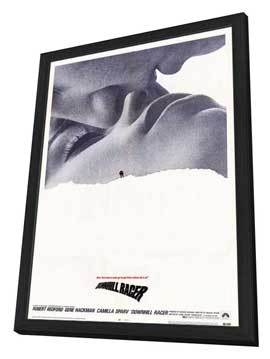 Downhill Racer - 27 x 40 Movie Poster - Style B - in Deluxe Wood Frame