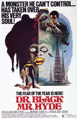 Dr. Black, Mr. Hyde - 11 x 17 Movie Poster - Style B