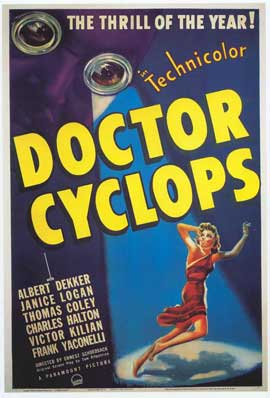 Dr. Cyclops - 11 x 17 Movie Poster - Style A