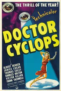 Dr. Cyclops - 27 x 40 Movie Poster - Style A
