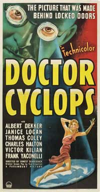 Dr. Cyclops - 20 x 40 Movie Poster - Style A