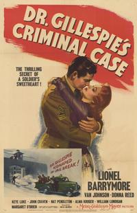 Dr. Gillespie's Criminal Case - 11 x 17 Movie Poster - Style A