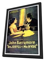 Dr. Jekyll and Mr. Hyde - 27 x 40 Movie Poster - Style A - in Deluxe Wood Frame