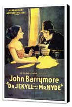 Dr. Jekyll and Mr. Hyde - 27 x 40 Movie Poster - Style A - Museum Wrapped Canvas