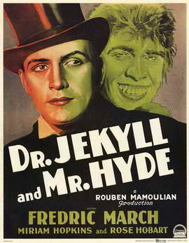 Dr. Jekyll and Mr. Hyde - 11 x 17 Movie Poster - Style D