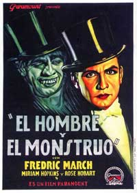 Dr. Jekyll and Mr. Hyde - 11 x 17 Movie Poster - Spanish Style A