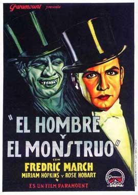 Dr. Jekyll and Mr. Hyde - 27 x 40 Movie Poster - Spanish Style A