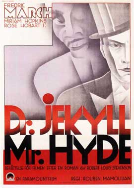 Dr. Jekyll and Mr. Hyde - 27 x 40 Movie Poster - Swedish Style A
