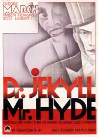 Dr. Jekyll and Mr. Hyde - 43 x 62 Movie Poster - Swedish Style A