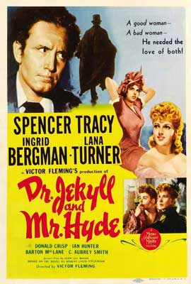 Dr. Jekyll and Mr. Hyde - 27 x 40 Movie Poster - Style C
