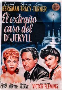 Dr. Jekyll and Mr. Hyde - 11 x 17 Movie Poster - Spanish Style C