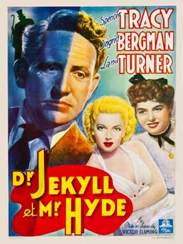 Dr. Jekyll and Mr. Hyde - 11 x 17 Movie Poster - Belgian Style A