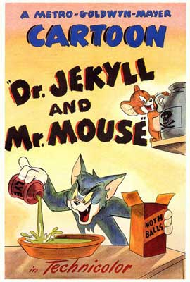 Dr. Jekyll and Mr. Mouse - 27 x 40 Movie Poster - Style A