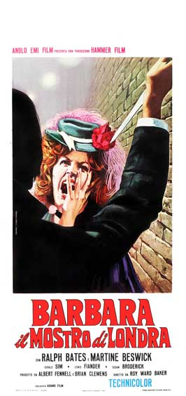 Dr. Jekyll and Sister Hyde - 13 x 28 Movie Poster - Italian Style A
