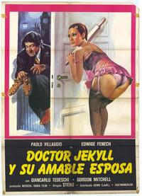 Dr. Jekyll Likes Them Hot - 11 x 17 Movie Poster - Spanish Style A
