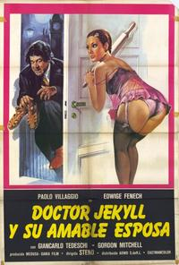 Dr. Jekyll Likes Them Hot - 27 x 40 Movie Poster - Spanish Style A