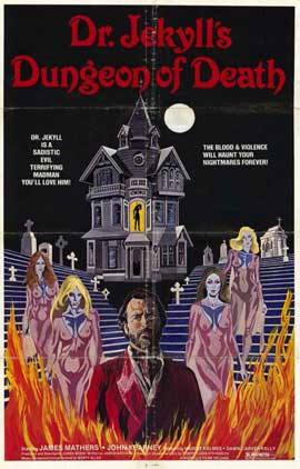 Dr. Jekyll's Dungeon of Death - 11 x 17 Movie Poster - Style A
