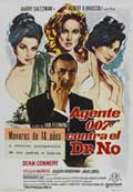 Dr. No - 27 x 40 Movie Poster - Spanish Style A