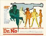 Dr. No - 11 x 17 Movie Poster - Style E
