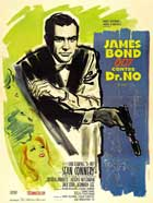 Dr. No - 27 x 40 Movie Poster - French Style B