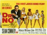Dr. No - 11 x 17 Poster - Foreign - Style A - Museum Wrapped Canvas