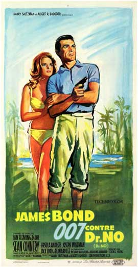 Dr. No - 11 x 17 Movie Poster - French Style A