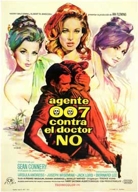 Dr. No - 11 x 17 Movie Poster - Spanish Style A