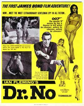 Dr. No - 11 x 14 Movie Poster - Style K