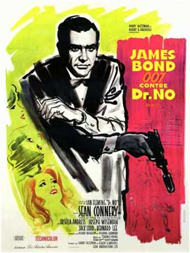 Dr. No - 11 x 17 Movie Poster - French Style B