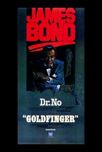 Dr. No - 27 x 40 Movie Poster - Style B