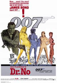 Dr. No - 43 x 62 Movie Poster - Bus Shelter Style A