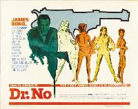 Dr. No - 22 x 28 Movie Poster - Half Sheet Style A
