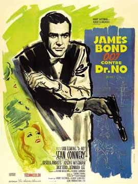 Dr. No - 11 x 17 Movie Poster - French Style C