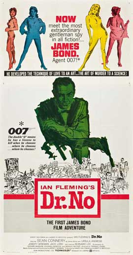 Dr. No - 20 x 40 Movie Poster - Style A