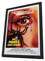 Dr. Phibes Rises Again - 11 x 17 Movie Poster - Style A - in Deluxe Wood Frame
