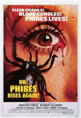 Dr. Phibes Rises Again - 11 x 17 Movie Poster - Style A
