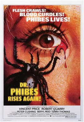 Dr. Phibes Rises Again - 27 x 40 Movie Poster - Style A