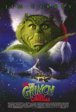 Dr. Seuss' How the Grinch Stole Christmas - 27 x 40 Movie Poster - Style B