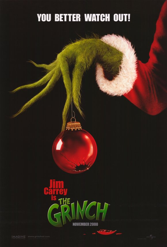 dr seuss how the grinch stole christmas movie posters