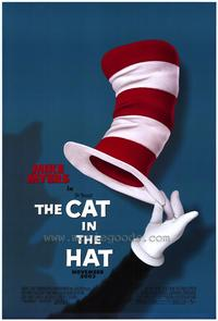 Dr. Seuss' The Cat in the Hat - 27 x 40 Movie Poster - Style A