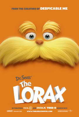 Dr. Seuss' The Lorax - 27 x 40 Movie Poster