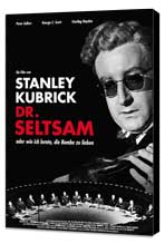 Dr. Strangelove, or: How I Learned to Stop Worrying and Love the Bomb - 27 x 40 Movie Poster - German Style B - Museum Wrapped Canvas