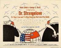 Dr. Strangelove or: How I Learned to Stop Worrying and Love the Bomb - 30 x 40 Movie Poster UK - Style A